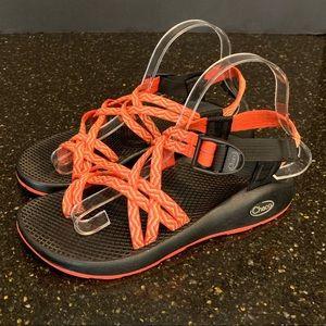 Chaco Z/Volv X1 Sandals Orange/Red